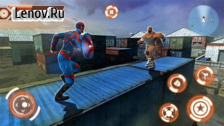 Superhero Captain City America Rescue Mission v 1.0