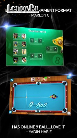 Pool Live Pro 🎱 8-Ball 9-Ball v 2.6.5 Мод (Long Line/Extra Power/Extra Spin)