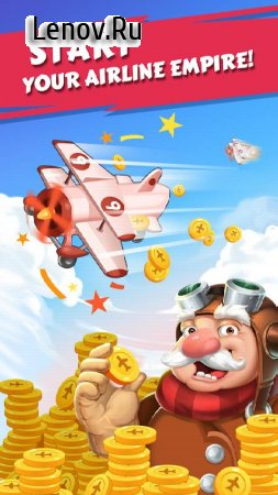 Merge Plane - Click & Idle Tycoon v 1.18.0 Мод (много денег)