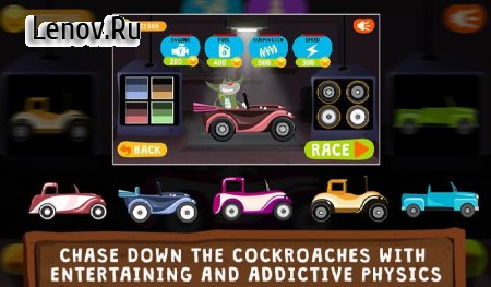 Oggy Go - World of Racing (The Official Game) v 1.0.24 Мод (A Lot Of Stars/All Theme Purchased & More)