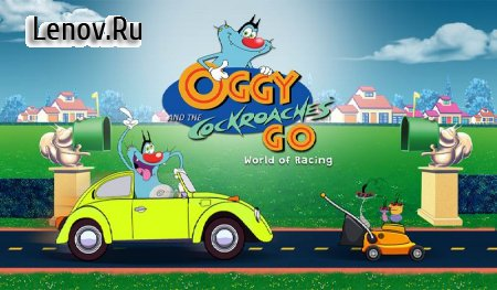 Oggy Go - World of Racing (The Official Game) v 1.0.25 Мод (A Lot Of Stars/All Theme Purchased & More)