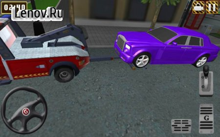 3D Tow Truck Parking EXTENDED v 2.3 Мод (All Levels Unlocked)
