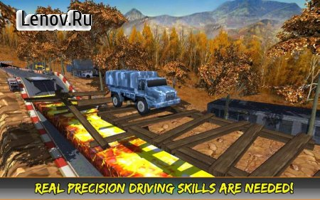 AEN Monster Truck Trail Racing v 1.3 Мод (Unlocked)