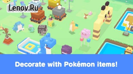 Pokémon Quest v 1.0.5 Мод (Free Shopping/Dummy Monsters/Low Hp)