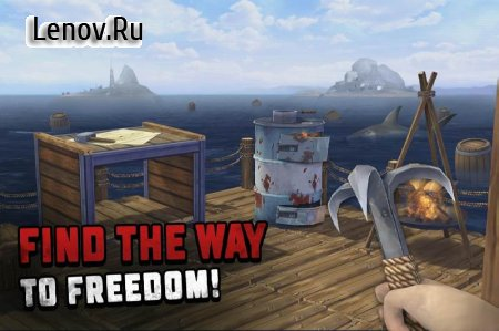 Ocean Nomad: Raft Survival v 1.0 (Mod Money)