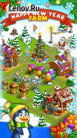 Farm Snow: Happy Christmas Story With Toys & Santa v 1.62 Мод (Free Shopping)