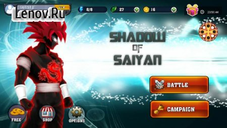 Shadow of Saiyan v 1.8 (Mod Money)