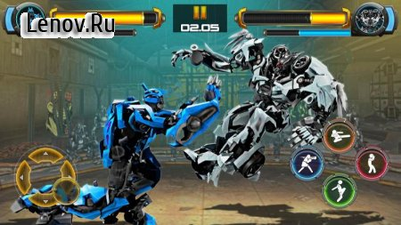 Robot Fighting Games: Real Transform Ring Fight 3D v 1.4 (Mod Money)