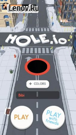 Hole.io v 1.11.0 Mod (Levels Maxed/Ads-free)