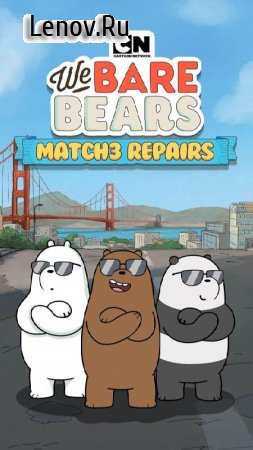 We Bare Bears Match3 Repairs v 1.2.40 Мод (много денег)
