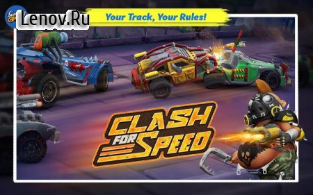 Clash for Speed – Xtreme Combat Racing Game v 1.8 (Mod Money)