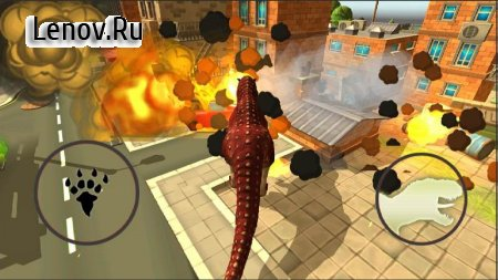 Dinosaur Simulator: Dino World v 1.6 Мод (Unlocked)