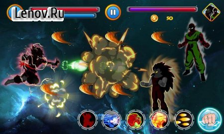 Shadow Goku Saiyan Final Battle v 1.0 (Mod Money)