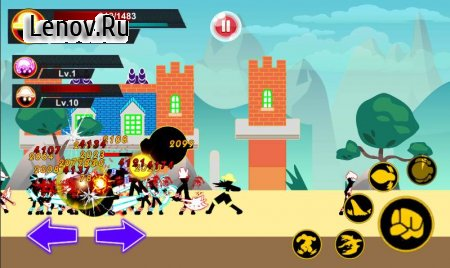 Stickman Hero - Pirate Fight v 1.5 Мод (Unlimited Gold/Coins/Gems)