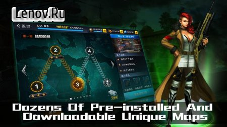 Shooting Heroes-(Dreamsky)Zombie Frontier Survival v 1.0.6 Мод (Free upgrading/Aim assistant)