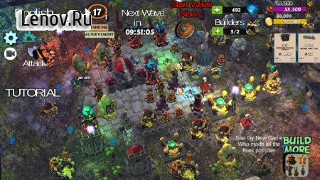 ☣️ Clash Of Orcs ⛺️ City Building Defense War TD v 3.42 Мод (Free Shopping)