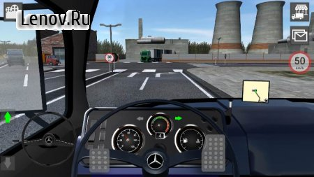 Mercedes Truck Simulator v 5.04 (Mod Money)