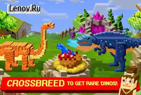 Jurassic Pixel Craft: dino age v 7.31 (Mod Money)