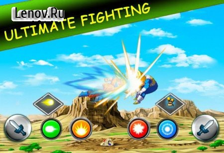 Saiyan Goku For Super Fight v 1.5 Мод (Unlimited Money/Points)