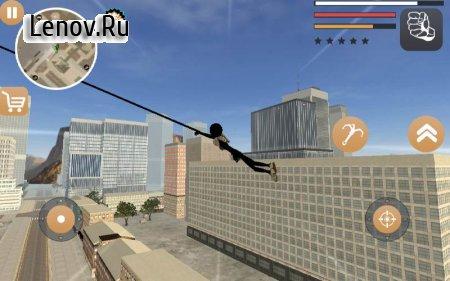Stickman Rope Hero 2 v 2.2 (Mod Money)