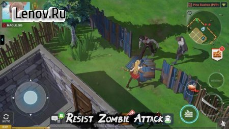 Zgirls 2-Last One v 1.0.53 Мод (Zombies will not move and attack)