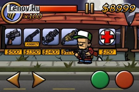 Zombieville USA v 1.1 Мод (Unlimited Cash/Ammo)