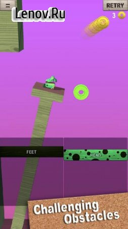 Wobble Frog Adventures v 1.0.2 Мод (Ads-free)