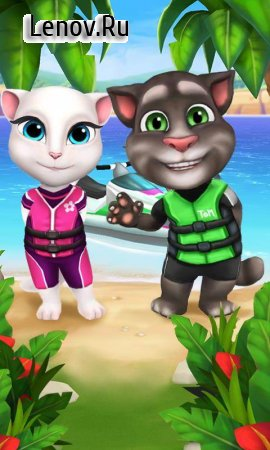 Talking Tom Jetski v 1.2.1.17 Мод (All Unlimited/No Ads)