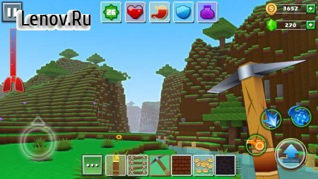 Exploration Lite Craft v 1.0.8 Мод (Unlimited Coins/Gems/Ad-Free)