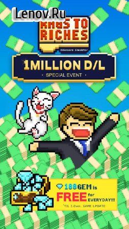 Rags to Riches : Billionaire Simulator v 2.5.4 (Mod Money)