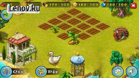 Nong Trai Vui Ve (Offline) v 1.0.6 Мод (Unlimited Gold & Resources)