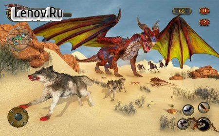 Dragon Simulator Attack 3D Game v 1.0.2 (Mod Money)
