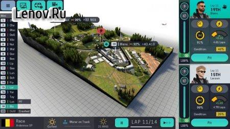 Motorsport Manager Mobile 3 v 1.0.5 Мод (полная версия)