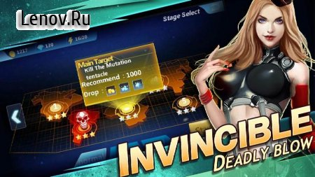 Ninja Warrior-Battle Hero Kingdom v 1.6 Мод (Unlimited Coins/Gems)
