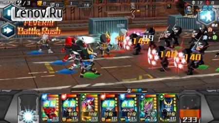 Kamen Rider Battle Rush v 1.3.3 Мод (Weak Enemy)