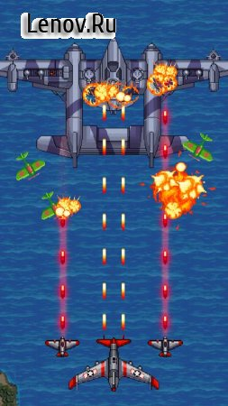 1942 Arcade Shooter v 3.84 Мод (Unlimited Stars/Gems/Medal)
