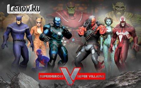 Superheroes vs Super Villains - Real Fighting Game v 1.2 (Mod Money)
