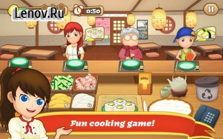 Sushi Fever - Cooking Game v 1.13.0 (Mod Money)