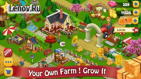 Farm Day Village Farming: Offline Games v 1.2.30 (Mod Money)