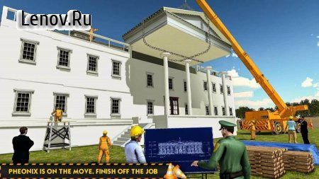 White House Building Construction Games City Build v 1.0.4 Мод (Unlocked All Level)
