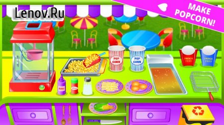 Street Food Kitchen Chef - Cooking Game v 1.1.6 Мод (Unlocked)