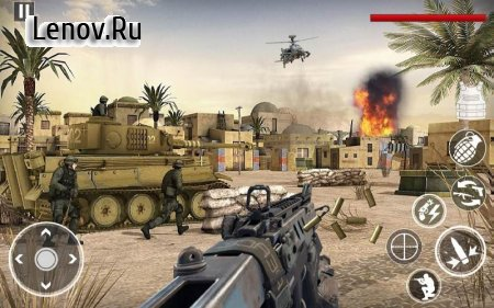 World War in Pacific: FPS Shooting Game Survival v 3.7 (Mod Money)