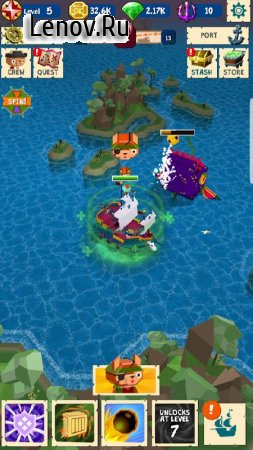 Holy Ship! Pirate Action v 1.3.9 (Mod Money)