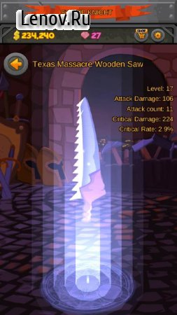 Sword Knight: Retrieval of the Throne v 2.0.56 Мод (Free Purchases)