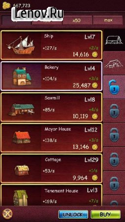 Idle Castle v 3.0.3 (Mod Money)