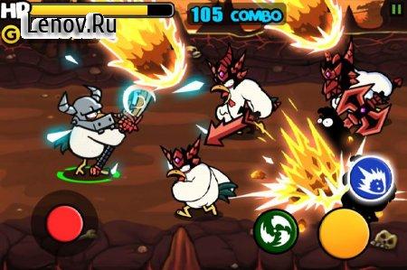 Chicken Revolution : Warrior v 1.0.8 (Mod Money)