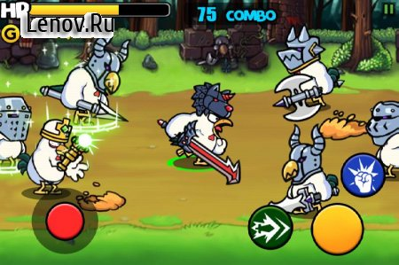 Chicken Revolution : Warrior v 1.0.8 (Mod Money)