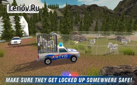Angry Animals Police Transport v 1.3 Мод (Everything Unlocked)