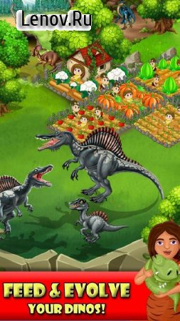 DINO WORLD - Jurassic dinosaur game v 12.50 Мод (много денег)