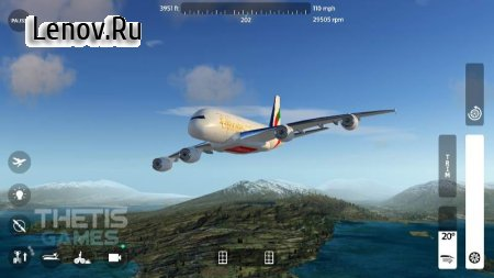 Flight Simulator 2018 FlyWings Free v 1.2.9 Мод (Unlocked)
